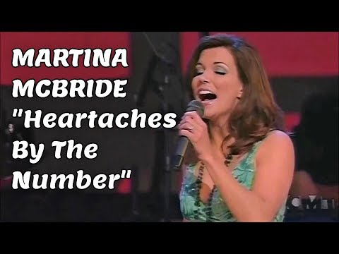 MARTINA MCBRIDE /RAY PRICE - HEARTACHES BY THE NUMBER