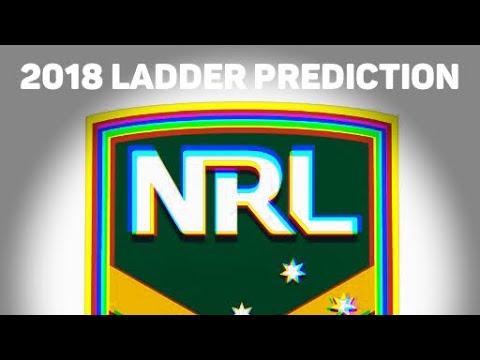 NRL Ladder & Finals Prediction 2018 • HD