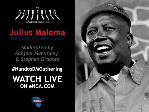 Julius Malema at The Gathering