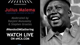 Julius Malema at The Gathering