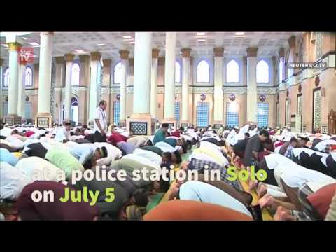 Eid al-Fitr celebration around the world