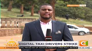 Digital taxi drivers strike