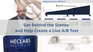 Hinter die Kulissen und Schaffen eine Live-A/B-Test