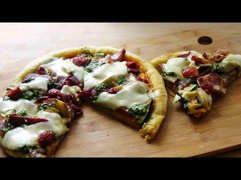 recette-de-pizza-maison-à-la-poêle-(facile-et-rapide)