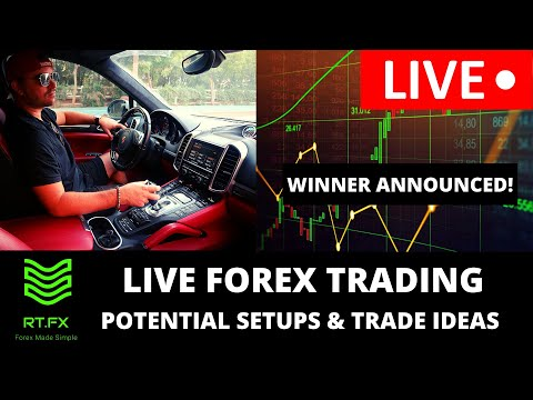 🔴LIVE Forex Trading – London Session Trade Setups and Ideas! WEEKLY WINNER ANNOUNCED!