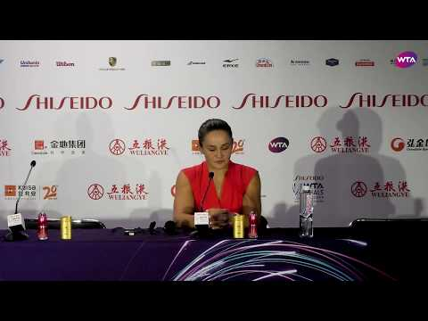 Ashleigh Barty | 2019 WTA Finals | Press Conference
