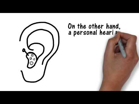 Difference Between a Hearing Aid and a Hearing Amplifier