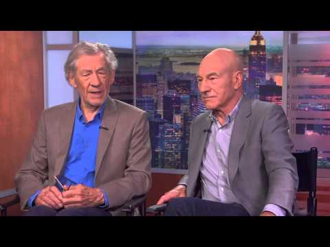Paul Lombardi Interviews Sir Ian McKellen and Patrick Stewart on PBS