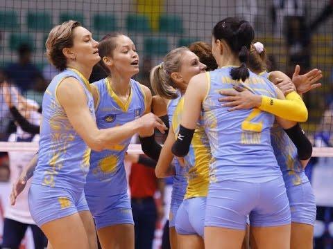 Kazkhstan vs Iran | 09 Sep 2016 | Quarterfinals | 2016 Asian Women's Club Volleyball Championship