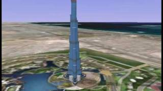 3dHH.de-Burj-Dubai(2)-3d(SketchUp-6)model animation