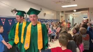 Laker Class of 2019 walks the halls