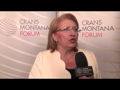 Interview of Mrs. Marie-Louise Coleiro Preca - Crans Montana Forum