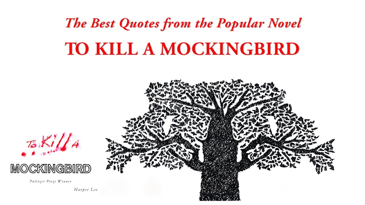 The best quotes from the popular novel to kill a mockingbird youtube