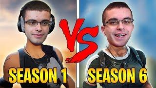 Nick Eh 30 SEASON 1 vs SEASON 6 | Evolution Of Nick Eh 30