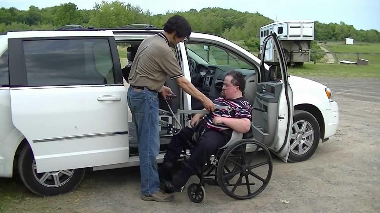 Multi Lift Disability Handicap Personal Transfer Lift In Van B