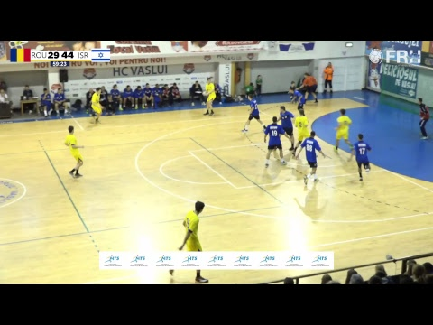 ROMANIA vs ISRAEL // Handball Men's U18