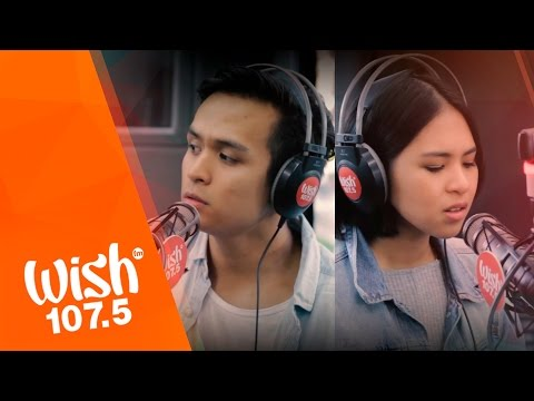 "Clara Benin and Dane Hipolito cover ""Your Universe"" (Rico Blanco) LIVE on Wish 107.5 Bus"