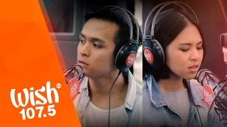 "Download lagu Clara Benin and Dane Hipolito cover ""Your Universe"" (Rico Blanco) LIVE on Wish 107.5 Bus"