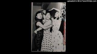 東宝映画 『大当り三色娘』主題歌 米山 正夫 作詞.作曲 1957/7.