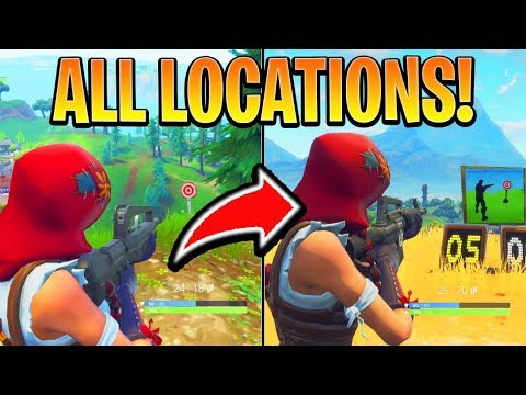 Fortnite Battle Royale All Shooting Galleries Location Guide