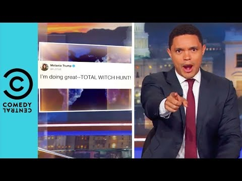 Has Trump Hacked Melania's Twitter? | The Daily Show With Trevor Noah