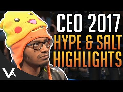SFV - CEO 2017 Highlights! Hype Moments & Salt Compilation For Street Fighter 5