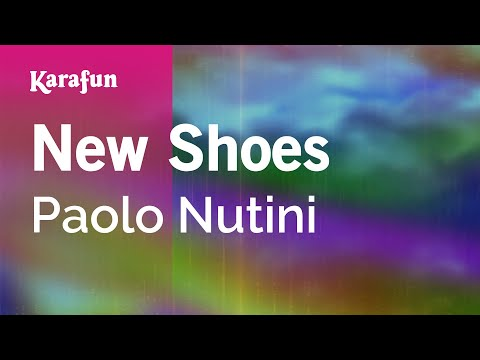 Karaoke New Shoes - Paolo Nutini *