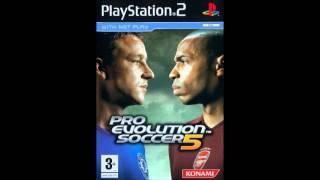 Pro Evolution Soccer 5 Soundtrack - Main Menu Music (Spiral 2005)