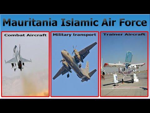 Mauritania Islamic Air Force Aircraft List