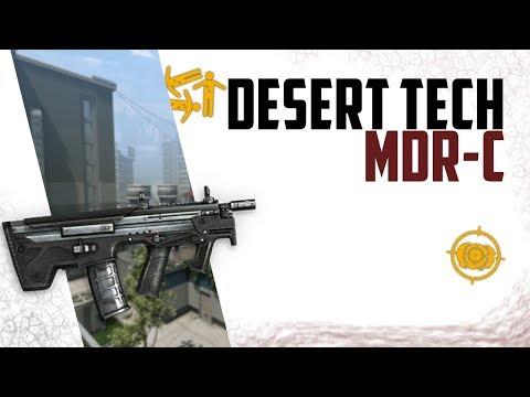 Warface Desert Tech MDR-C - 4th best Engie gun thumbnail
