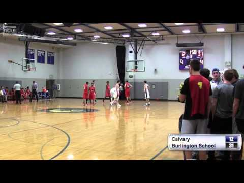 Calvary Baptist (NC) vs Burlington School - High School Basketball