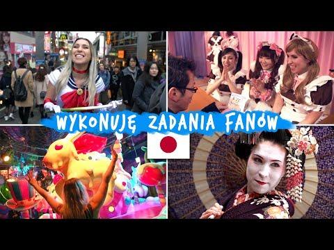 Wykonuję zadania od fanów w JAPONII! - Aga w Japonii #1 | Agnieszka Grzelak Vlog