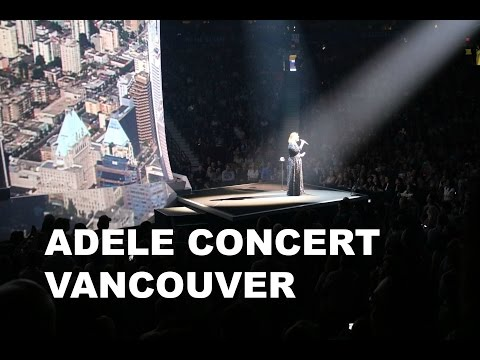 ADELE Concert - Vancouver + FUNNY MOMENTS