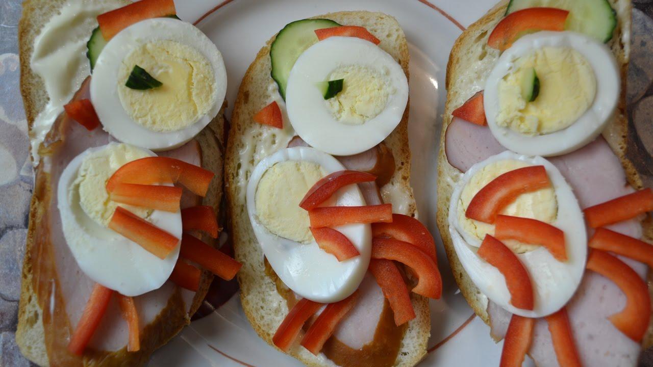 Простые и вкусные бутерброды на праздничный стол «ПЕТУШКИ». Готовим  яркие праздничные бутерброды