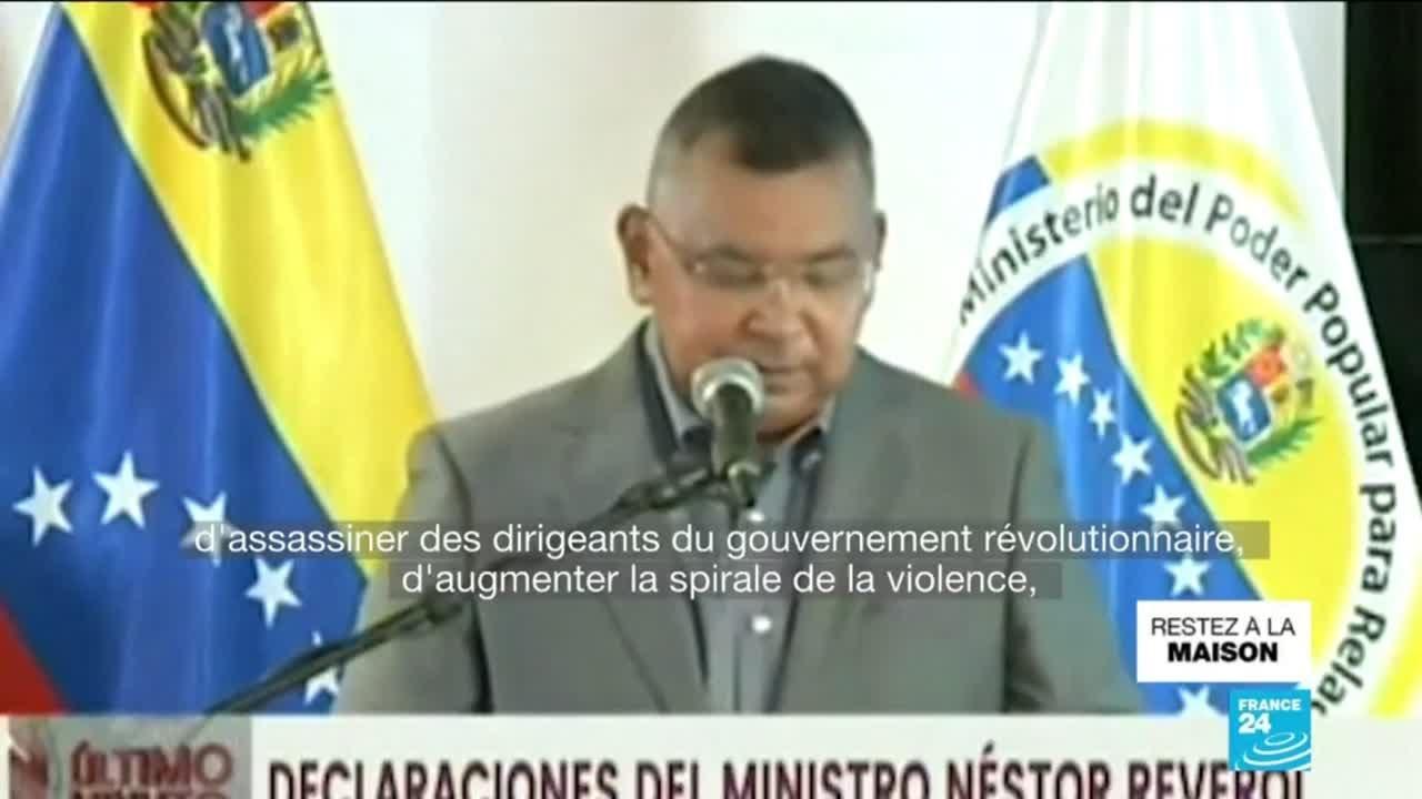 """Venezuela : Caracas aurait déjoué une """"invasion"""" venant de la Colombie"""
