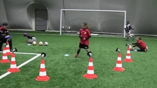 Part Two- Trening Ze Szkółką Techniki Fundamentalnej - Kudełk i Nadia -Trener Stanisław Kwiatkowski