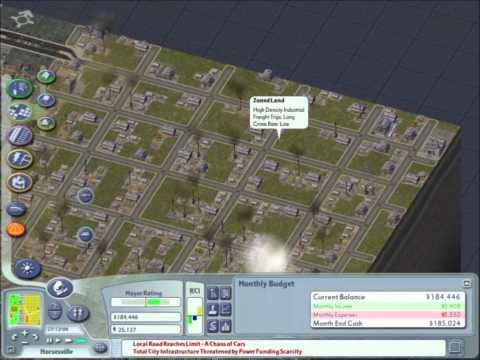 Simcity 4: S2 Ep. 1-No Pollution, No Problem!