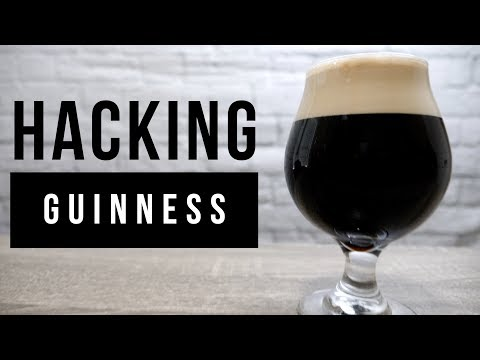 Hacking a Guinness clone
