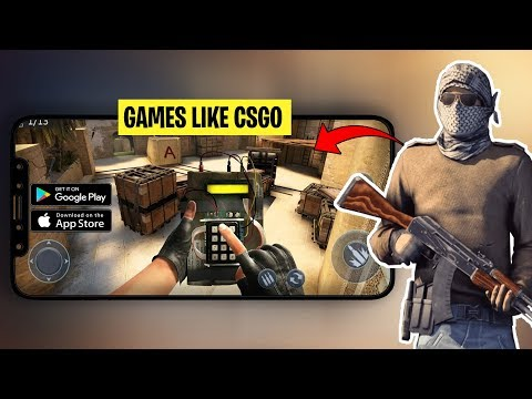 6 High Graphics Android/iOS Games Like CS:GO - (Games Like Counter Strike Global Offensive)