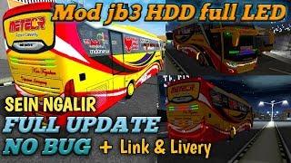 SEIN NGALIR Mod JB3 HDD update full LED Bussid mod terbaru