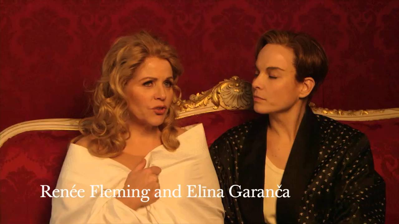 Carsen, Fleming and Garanca on Der Rosenkavalier