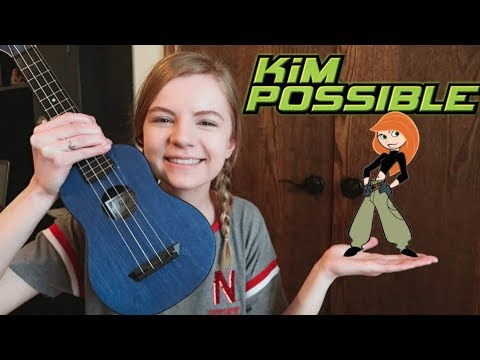 I sang the Kim Possible theme song (Call Me, Beep Me)