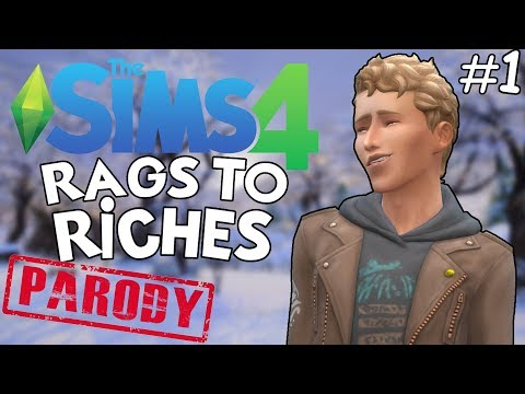 A NEW DAY!   The Sims 4: Rags to Riches Challenge #1 (FINALE) (PARODY) thumbnail