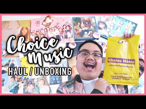 CHOICE MUSIC HAUL (BTS, TWICE, etc.) | KPOPAMOO