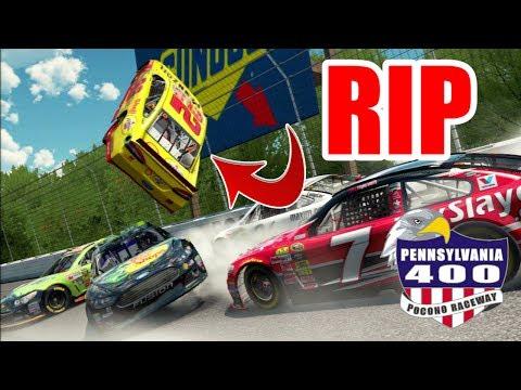 RIP JOEY LOGANO  [Pennsylvania 400] [NASCAR 15 Career Mode 22/36]