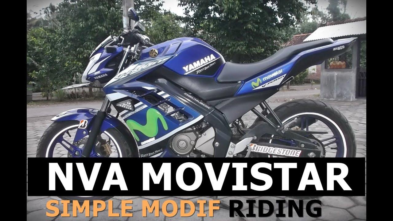 82 Modifikasi Motor Vixion Movistar 2016 Terlengkap Spions Motor