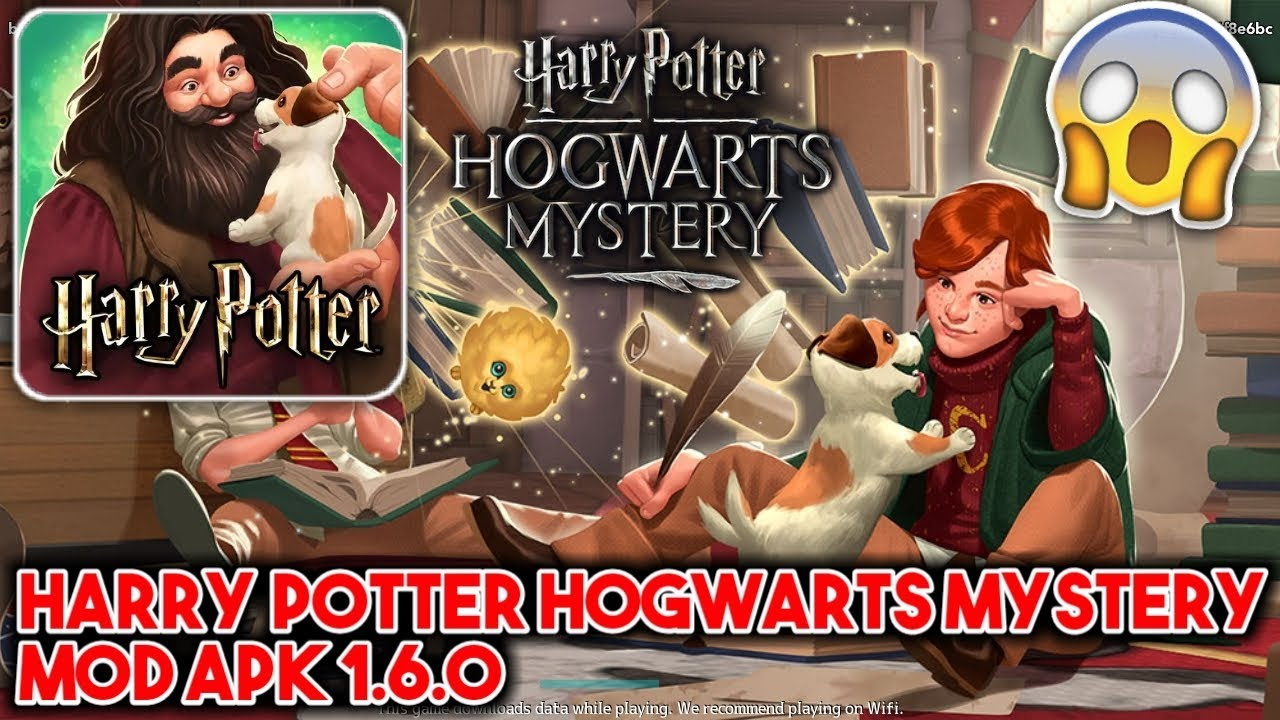 Harry Potter Hogwarts Mystery MOD APK 1 6 0 (UNLIMITED ENERGY)