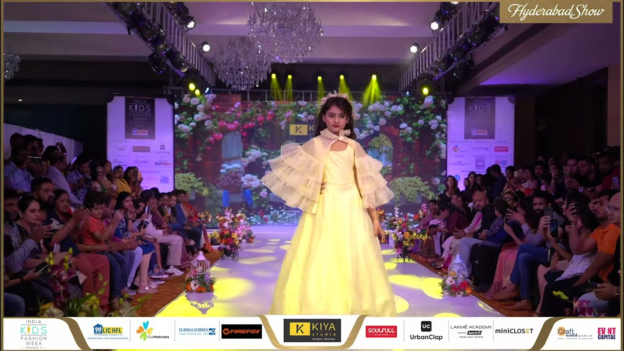 Kiya Studio At India Kids Fashion Week Season 7 Hyderabad Youtube