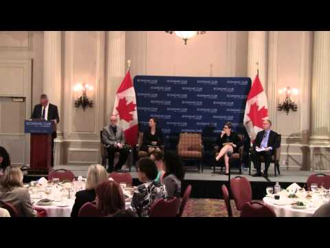 Working with Mental Health Illnesses, Economic Club of Canada (Part 1 of 2)