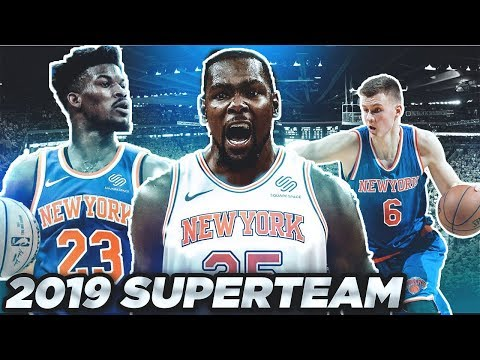 Kevin Durant Will Sign W/ New York Knicks and Win 2020 NBA Championship w/ Porzingis/Jimmy Butler